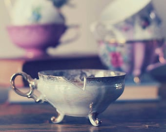 Beauty and the Beast inspired, Fine Art Photography, Photograph, Photo, Print, Chip, Tea Cup, Vintage,  Kitchen, Fairy Tale, Nursery, Decor