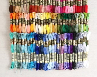 DMC Embroidery Floss // Benzie's Complete Collection // Gifts for Crafters, Floss Bundles, Entire 90 Skein Floss Line, Felt and Floss, Craft