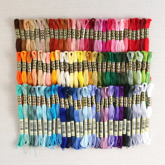 Dmc Embroidery Floss Benzies Complete Collection Etsy