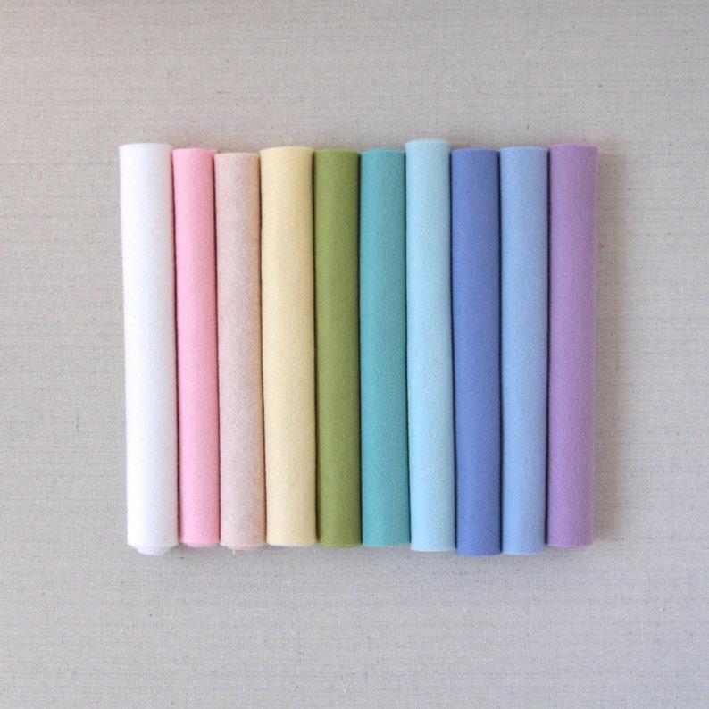 "Gingermelon // Wool Felt for Pattern // Benzie Guest Curator 12x18"" Felt"
