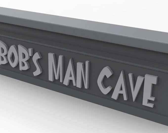 """Wall Name Sign 24"""" Wide Custom Made and painted in your choice of colors."""