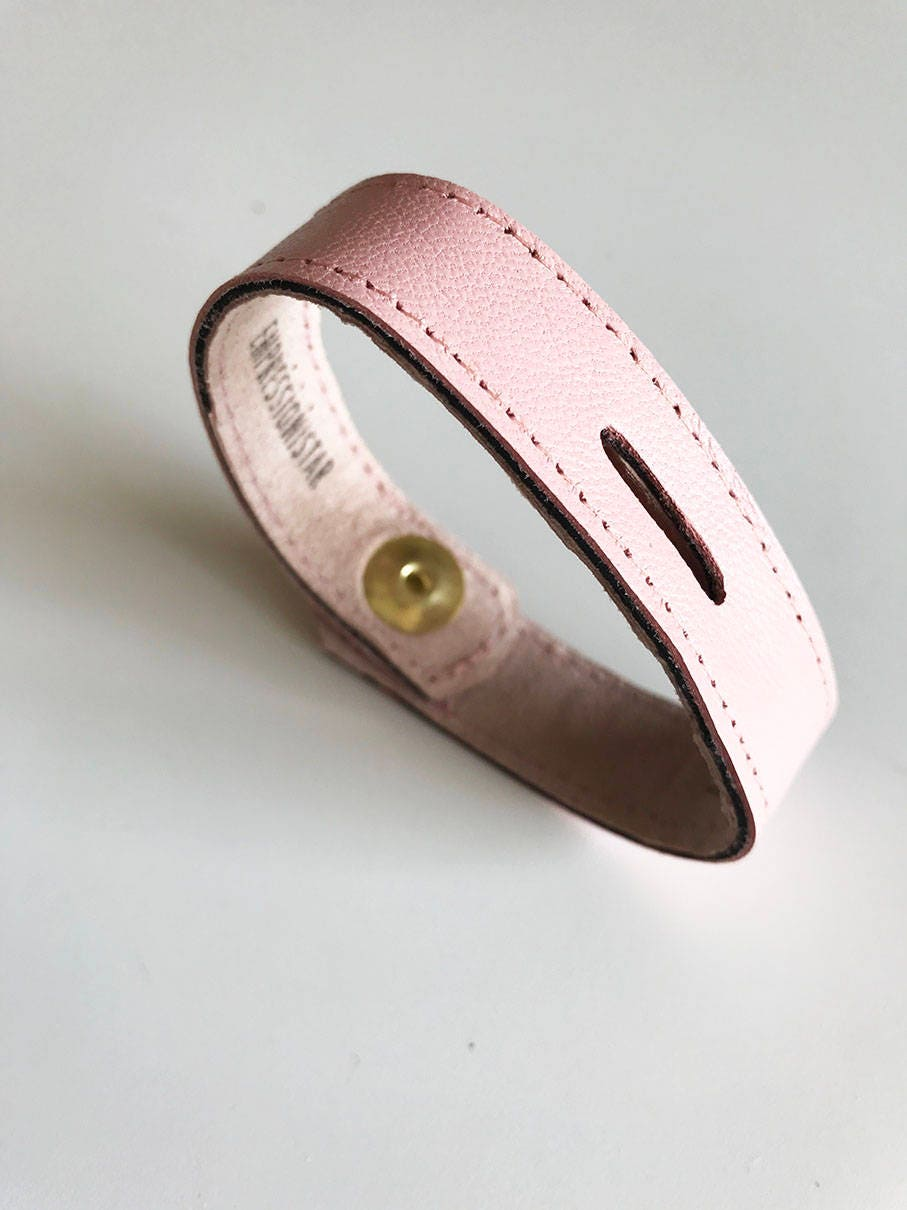 Band for Women Narrow Leather Strap