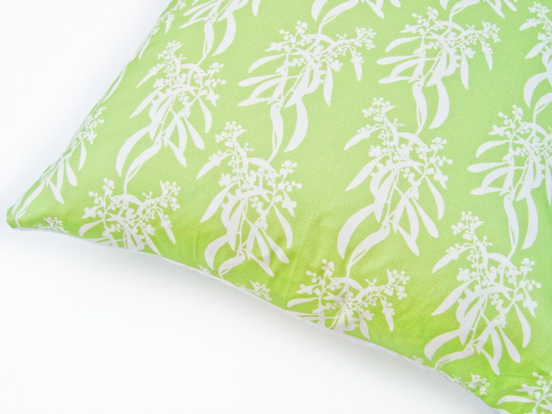 LAST ONE: Cushion Throw Pillow Cover 18 x 18 inch  Botanical image 0