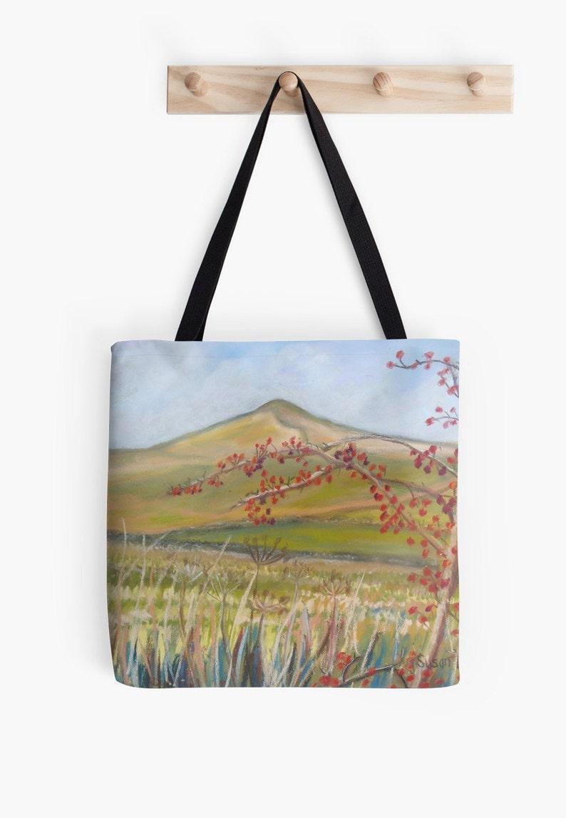 Yorkshire Hills Landscape Scenery Tote Bag  Artist's image 0