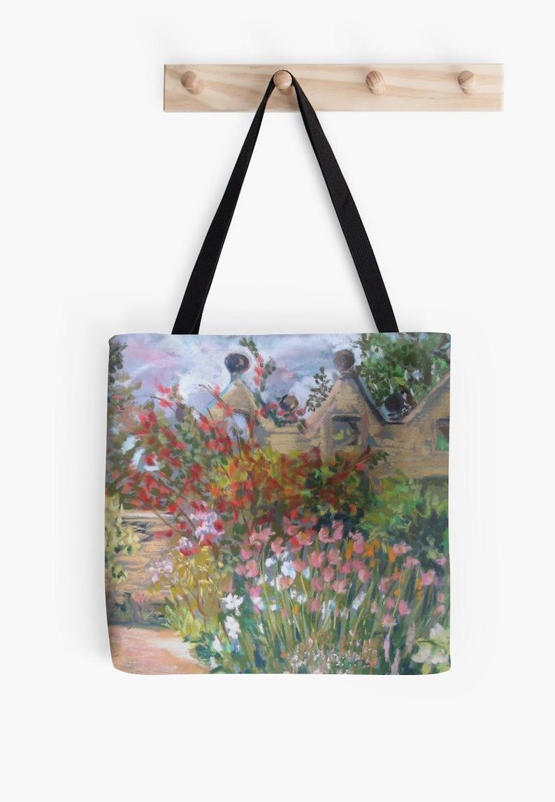Summer Gardens Landscape Scenery Tote Bag  Artist's image 0