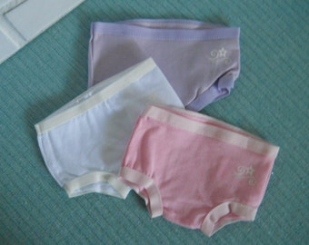 """Handmade White Doll Panties 24/"""" Thumbellina Underwear Bloomers Fits Other Dolls"""