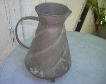 Antique pitcher large