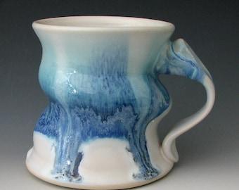 STONEWARE COFFEE MUG #8 - Ceramic Coffee Mug - Coffee Cup - Pottery Coffee Mug - Stoneware Mug - Handmade Mug - Large Mug - Clay Mug