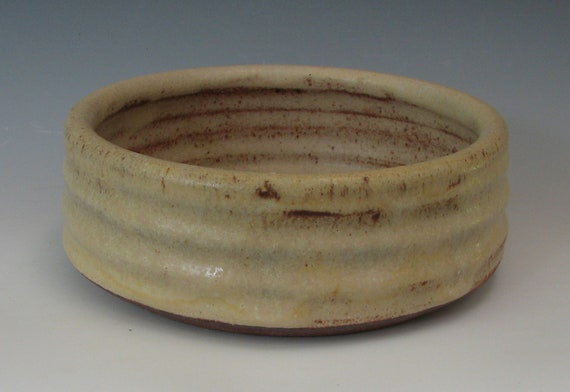 STONEWARE DOG BOWL #28 small dog bowl ceramic dog bowl small pet puppy for puppies for cats water bowl for small pets puppy cat food feeder