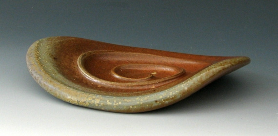 WOODFIRED SOAP DISH