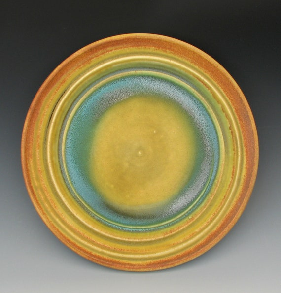 STONEWARE LUNCH PLATE