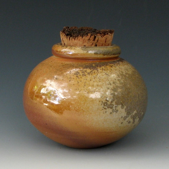 SMALL STONEWARE JAR