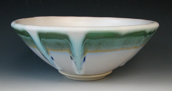 STONEWARE BOWL #8 - Ceramic Bowl - Pottery Bowl - Ceramic Bowls - Mixing Bowl - Pasta Bowl - Serving Bowl - Ceramics and Pottery