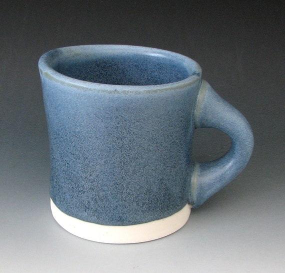 BLUE PORCELAIN MUG