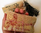 Ready to ship Stocking Stuffers / Coffee Favors. Set of 3. Freshly Roasted to order. Hostess gift idea.
