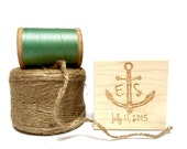 Custom Stamp. Nautical wedding decor. Beach wedding. Custom Anchor Stamp.
