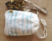 Tea Favors. Bridal Shower Favors. Artisan loose tea. Set of 20 Ready to ship.