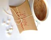Christmas Favors. Hot Cocoa gift set of three. Gourmet party favors or stocking stuffers. READY TO SHIP