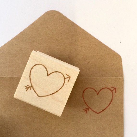 Diy Valentines Day Heart Stamp Ready To Ship Invites Thank You Cards Save The Date Ideas Ready To Ship