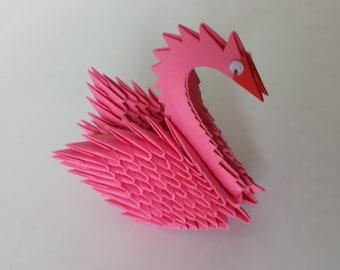 3D Origami Simple Swan Tutorial - YouTube | 270x340