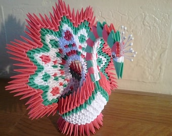 New item under 3d origami open-tail peacock. Only 1 available with ... | 270x340