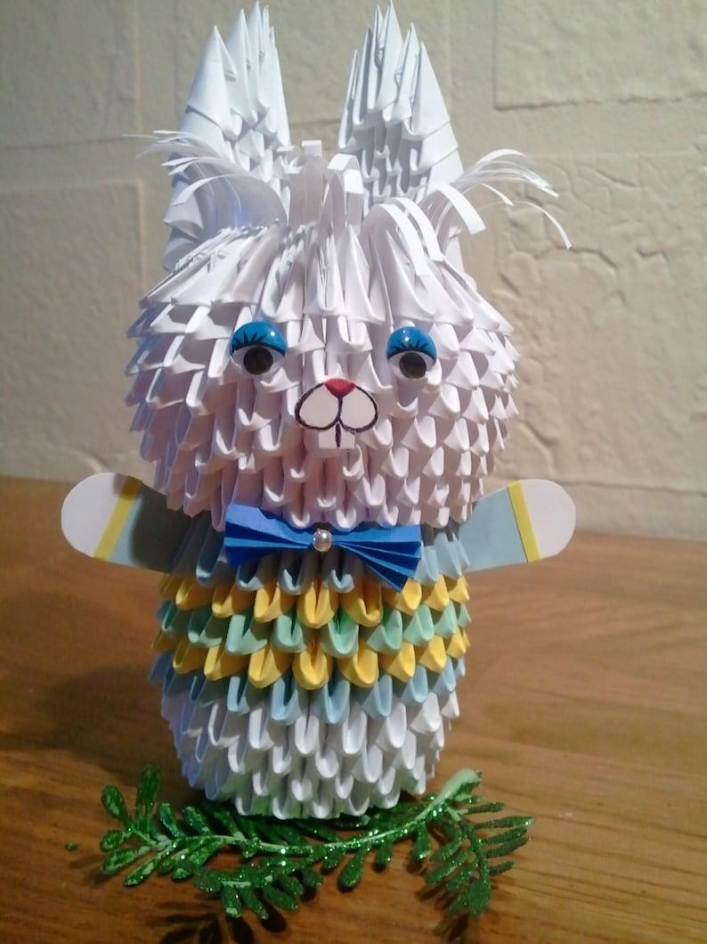 Модульное оригами картинки заяц голубой, картинки про учителей