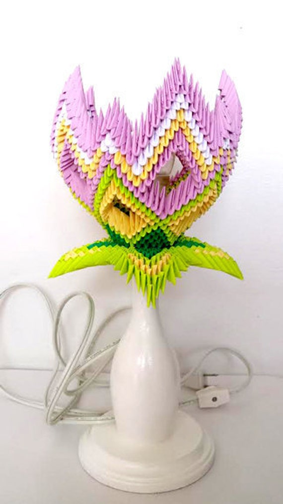 HOW TO MAKE 3D ORIGAMI VASE V3 PART 2 | DIY PAPER FLOWER VASE V3 ... | 1013x570
