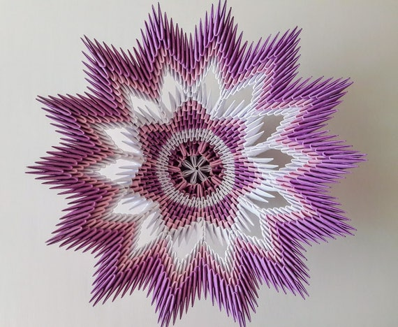 Angels Bookshop - Handmade 3D Origami Vase showpiece... | Facebook | 468x570