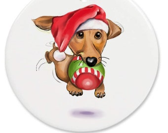 dachshund ornament personalized gift, memorial ornament, custom pet ornament, adopt a pet, dachsund ornament, wiener dog, doxie gift