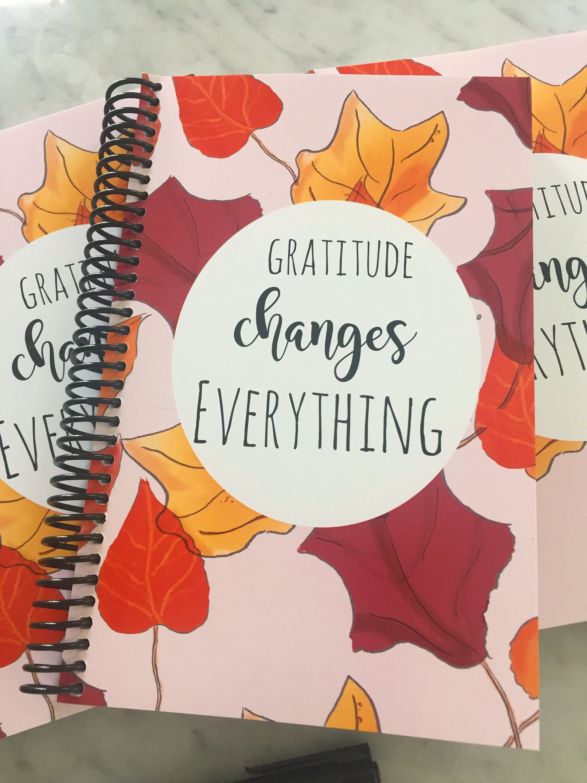 Dankbarkeit Journal Dankbarkeit ändert alles Dankbarkeit | Etsy