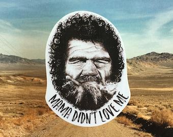 Raising Arizona's Leonard Smalls Vinyl Laptop Sticker   Phone Decal