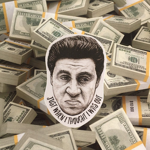 Silvio Dante Laptop Sticker Phone Decal Etsy