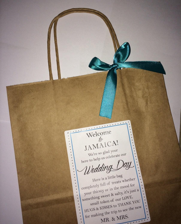 Destination Wedding Gift Bags: Wedding Welcome Bag Hotel Guest Bag Destination Wedding
