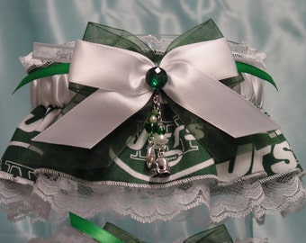 new york jets keepsake garter