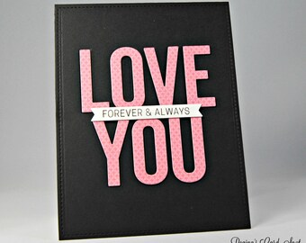 Clean & Simple Valentine's Day Card