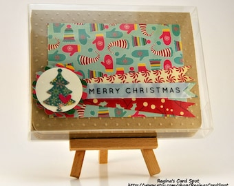 Merry Christmas Greeting Card Set