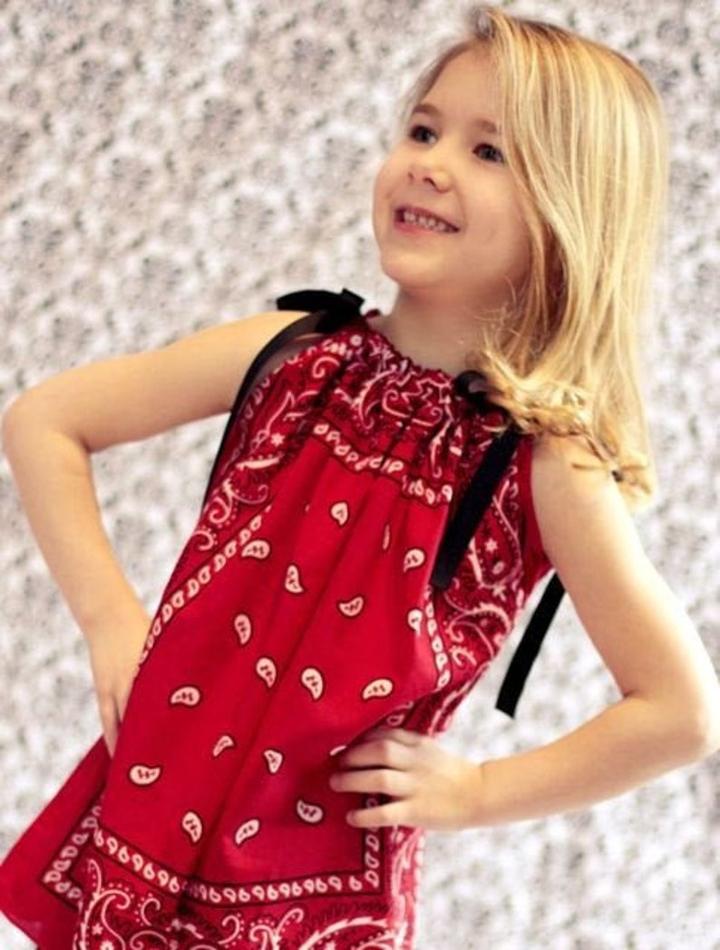 Bandana Tunic  Red image 0