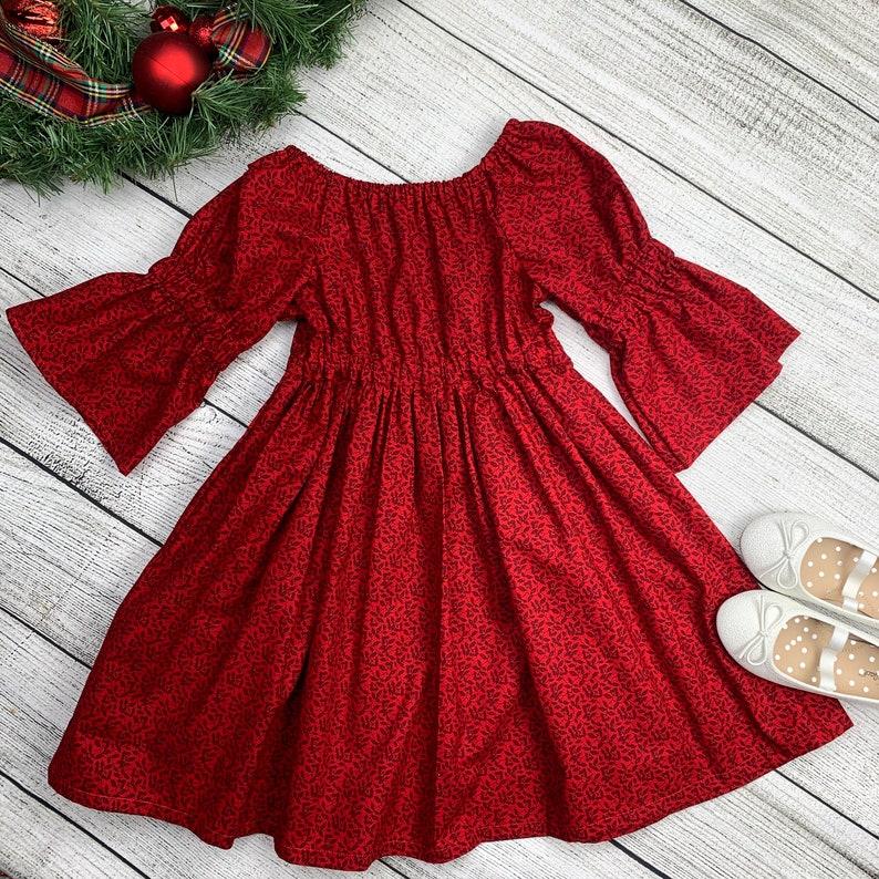 READY TO SHIP Cranberry Dress Size 3