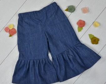 Tween  Ruffle Jeans