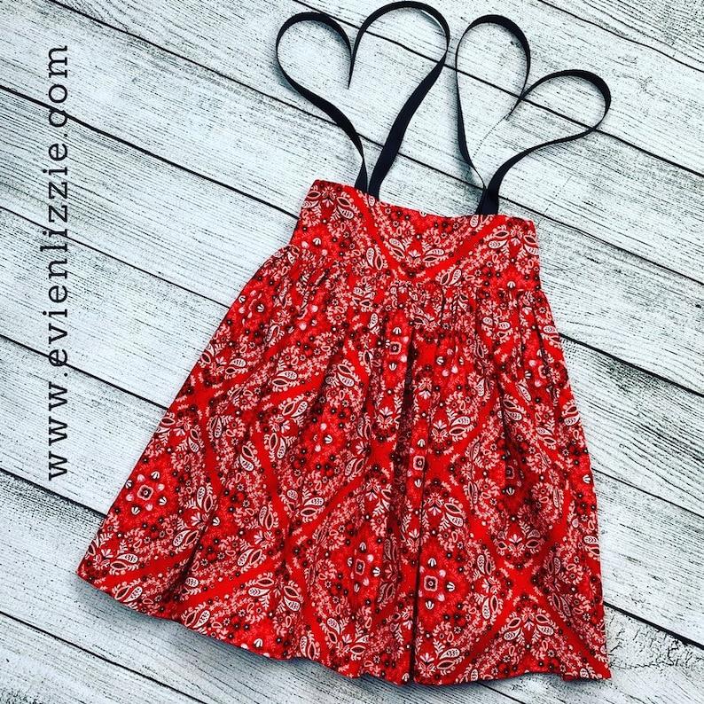 Red Bandana Dress image 0