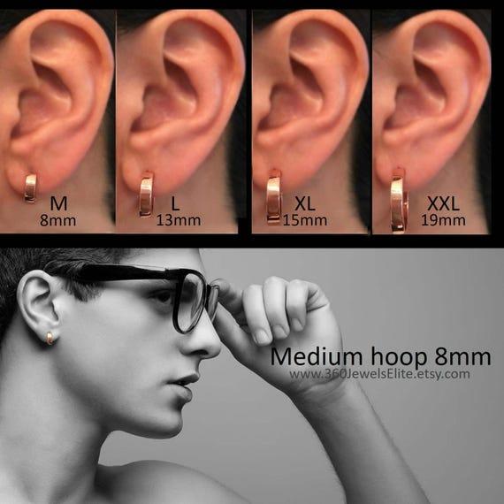 Rose gold hoop earrings desert lights rose gold infinity  1567b992365d
