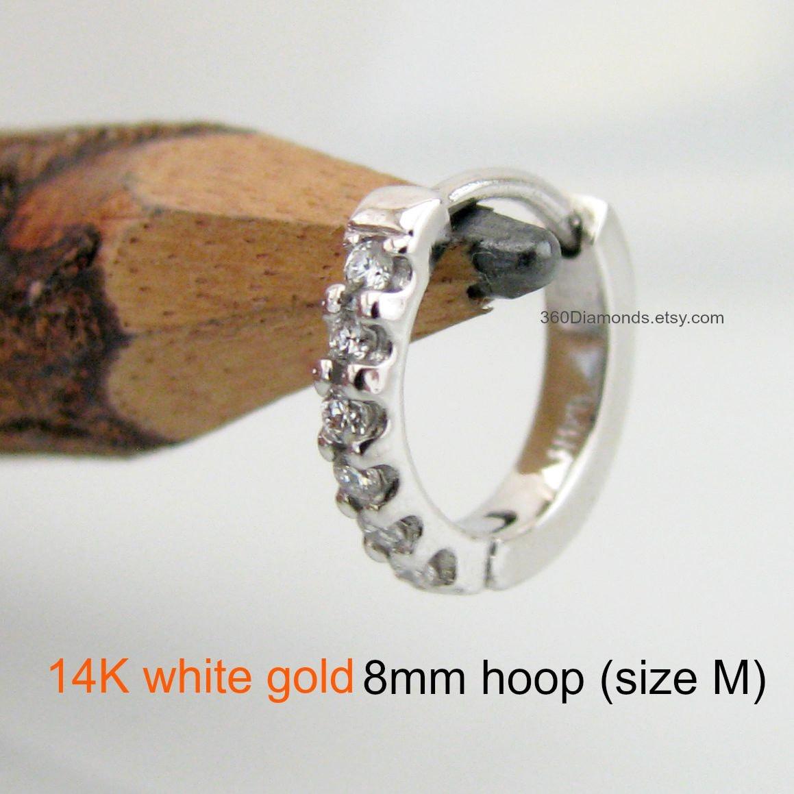 9e7f731de2c Men s hoop earrings diamond aeon hoop earring solid gold
