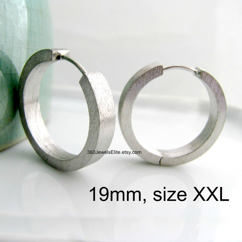 45fd700fd4619 Big Hoop Earrings For Men - Oversized Hoop Earrings Large Hoop Earrings -  XXL Hoop Earrings - Etsy Male Earrings - E194MW