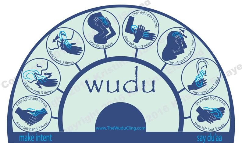 The Wudu Cling  Blue image 0