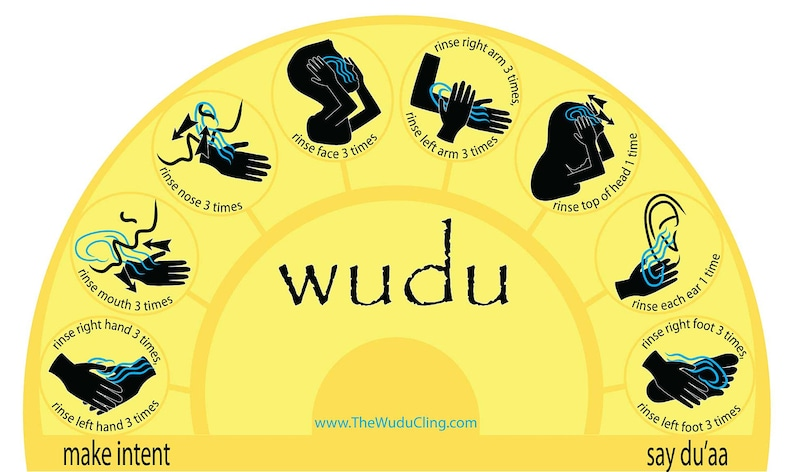 The Wudu Cling  Yellow image 0