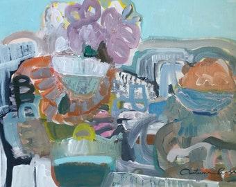 Blue Morning- 18x24- Original painting