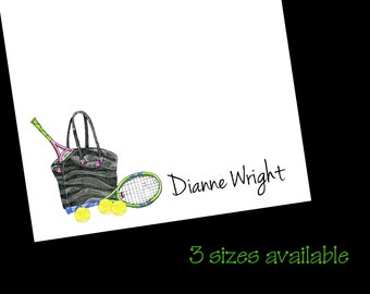 Tennis Bag Notepads, Tennis Gift