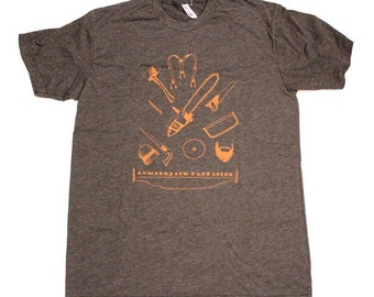 Men's T-Shirt - Lumberjack Fantasies