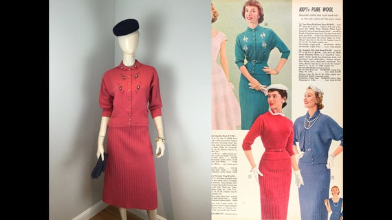 Agnes Was Full of Bling - Vintage 1950s Gloria Cer