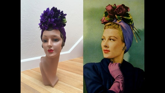 Hers Was Far Better - Vintage WW2 1940s Royal Purp